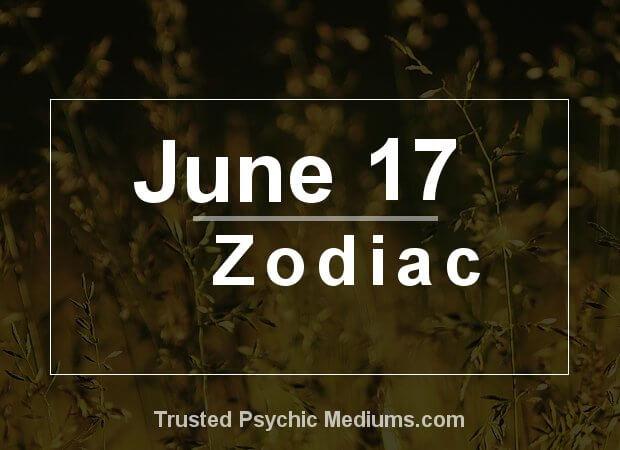 June 17 Zodiac