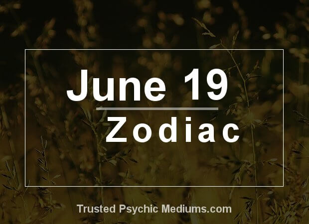 June 19 Zodiac
