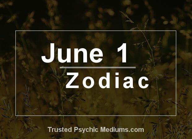 June 1 Zodiac