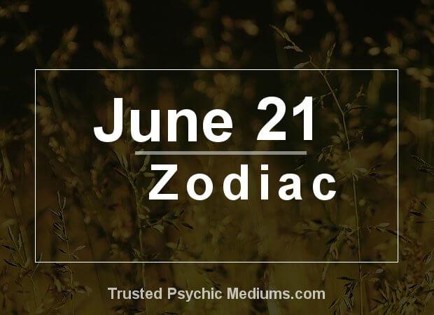June 21 Zodiac