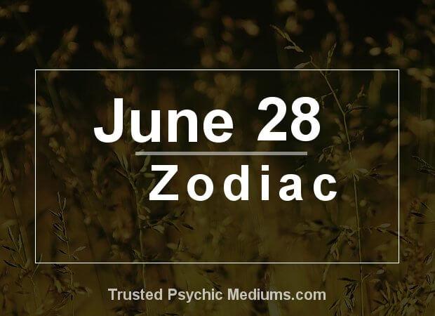 June 28 Zodiac