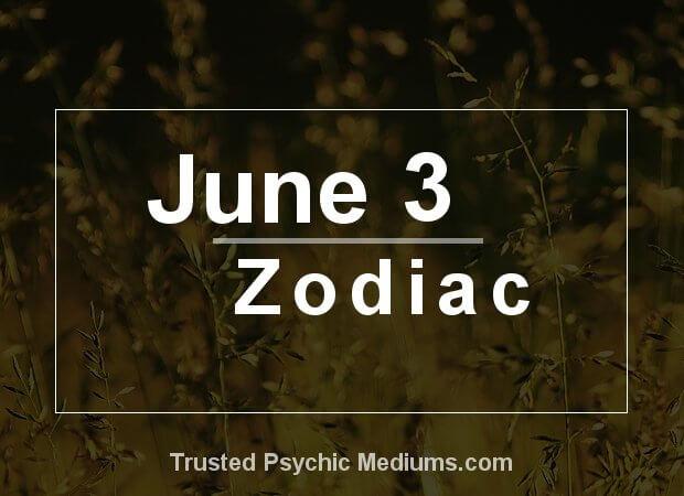 June 3 Zodiac