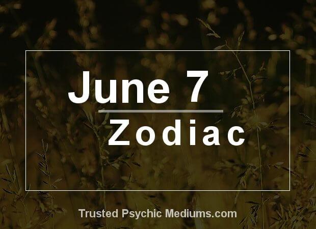 June 7 Zodiac