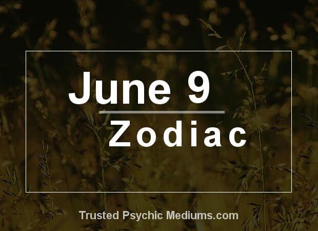 June 9 Zodiac