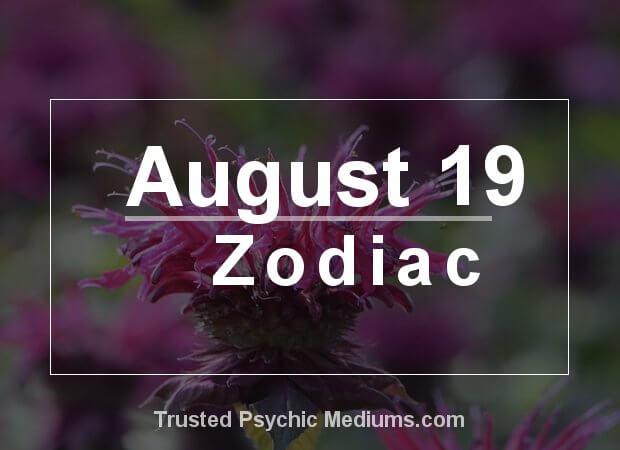 August 19 Zodiac