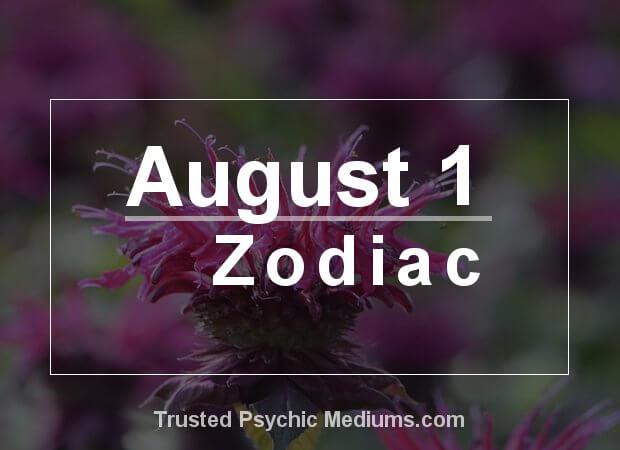 August 1 Zodiac