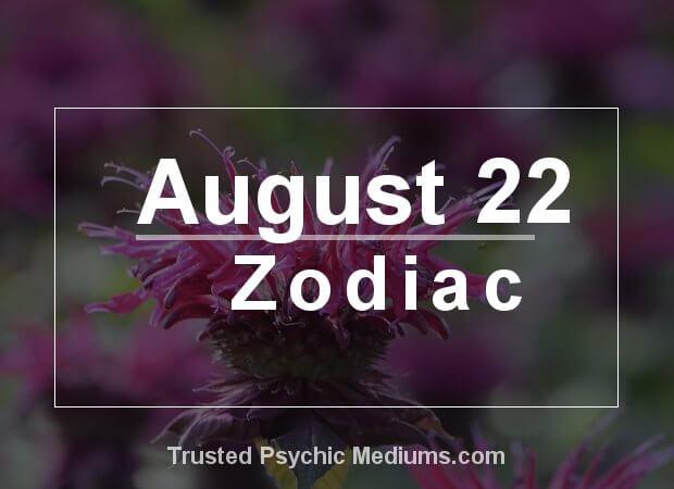 August 22 Zodiac