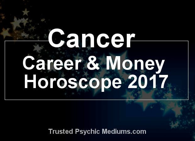 cancer money horoscope 2017