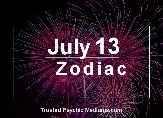 July 13 Zodiac