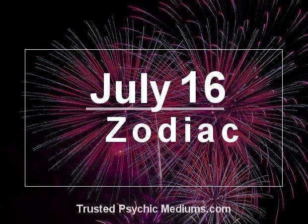 July 16 Zodiac