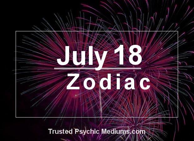 July 18 Zodiac