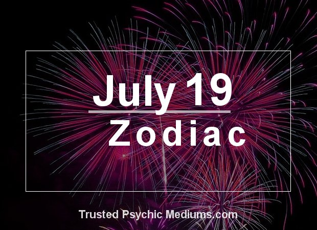 July 19 Zodiac