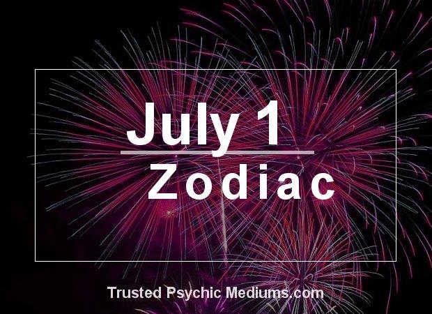 July 1 Zodiac