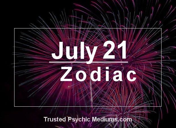 July 21 Zodiac