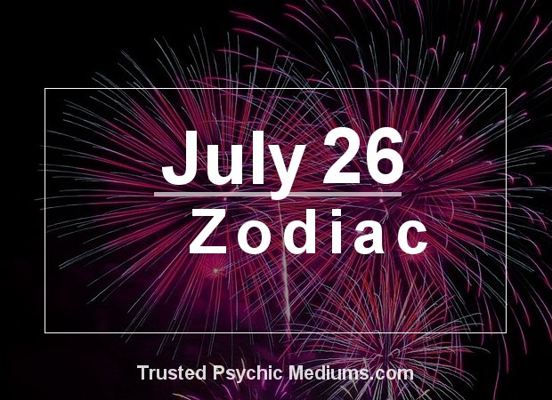 July 26 Zodiac