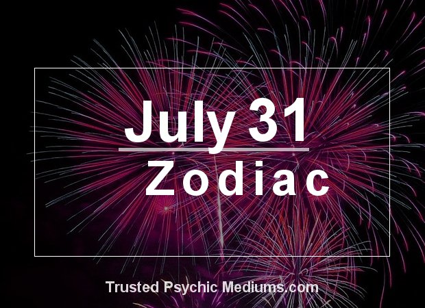 July 31 Zodiac