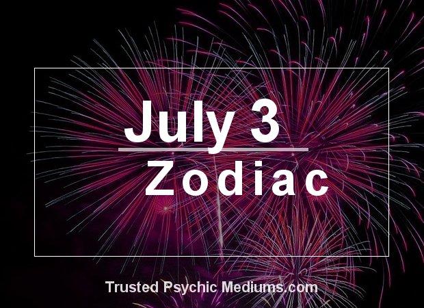 July 3 Zodiac