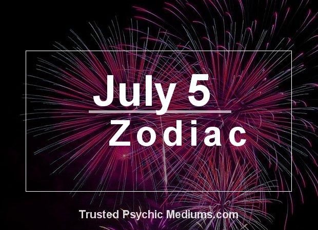 July 5 Zodiac