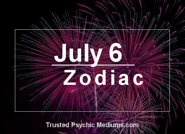July 6 Zodiac