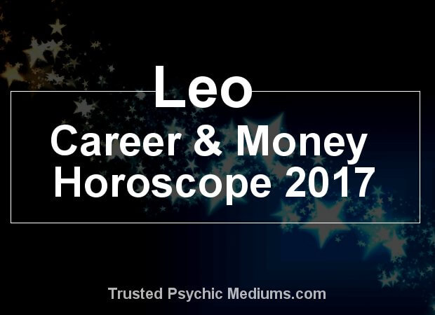 leo money horoscope 2017