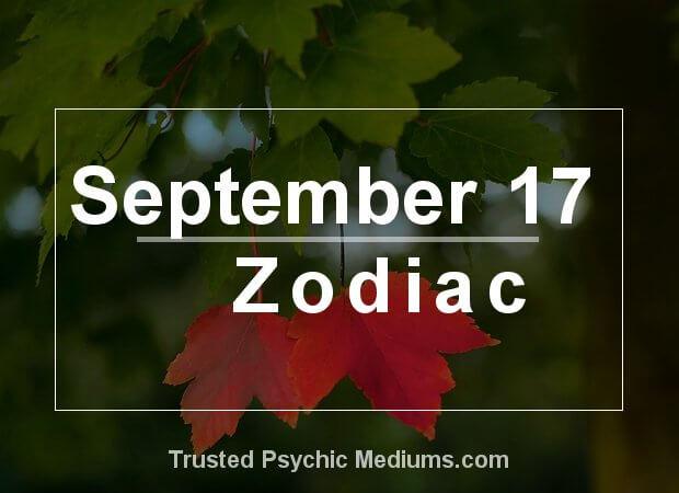 September 17 Zodiac