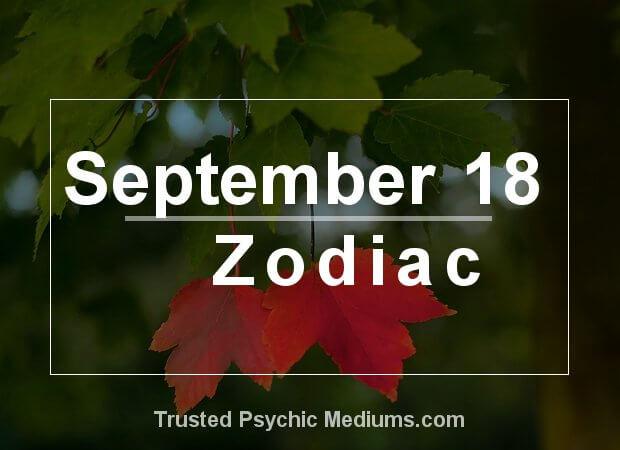 September 18 Zodiac