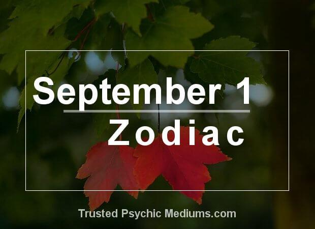September 1 Zodiac