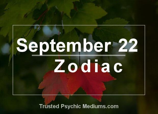 September 22 Zodiac