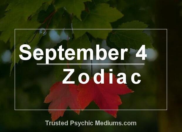 September 4 Zodiac