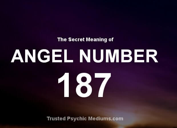 Angel Number 187 and its Meaning