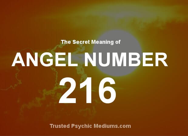 Angel Number 216 and its Meaning