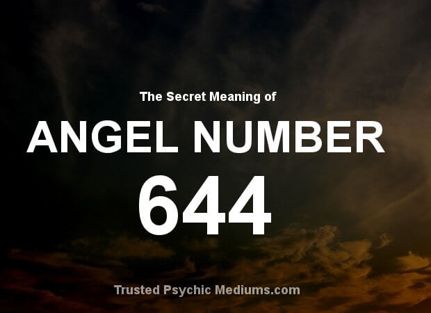 Angel Number 644 and its Meaning