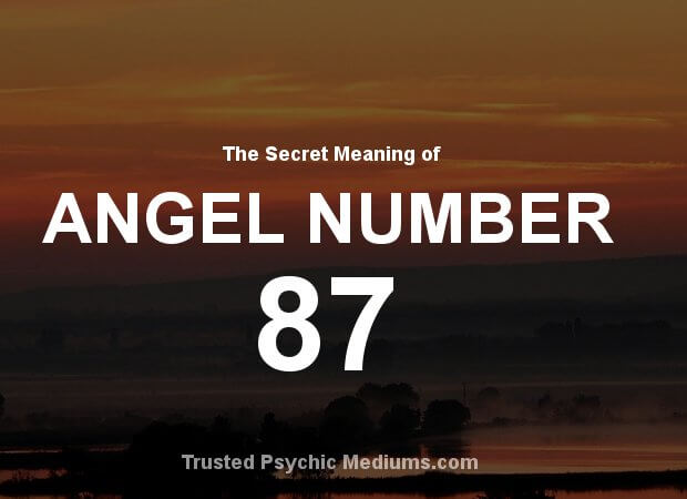 Angel Number 87 and its Meaning