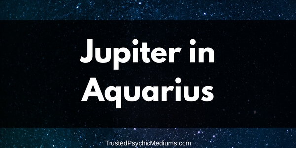 Jupiter in Aquarius