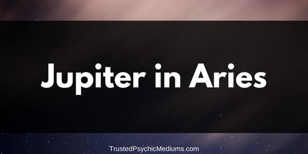 Jupiter in Aries