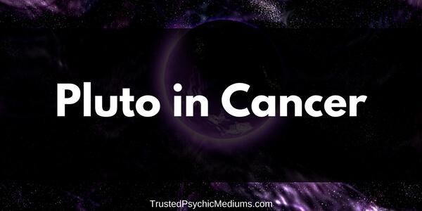Pluto in Cancer