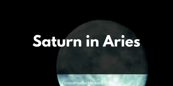 Saturn in Aries