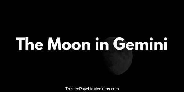 The Moon in Gemini