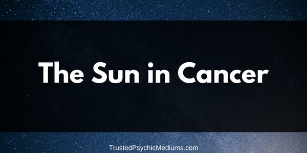 The Sun in Cancer