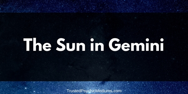 The Sun in Gemini