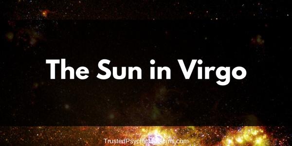 The Sun in Virgo
