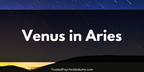 Venus in Aries