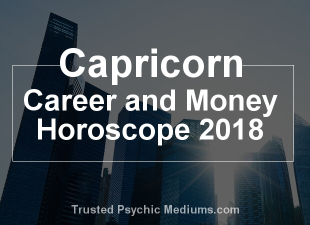 Capricorn Career Horoscope 2018