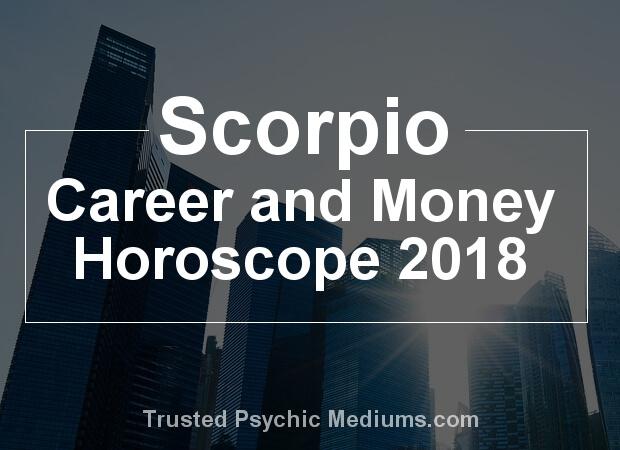 Scorpio Career Horoscope 2018