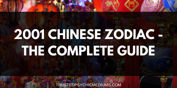 2001 Chinese Zodiac – The Year of the Snake