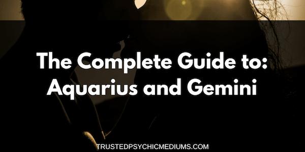 Aquarius and Gemini Compatibility – The Definitive Guide