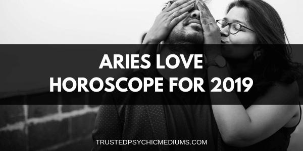 Aries Love Horoscope 2019
