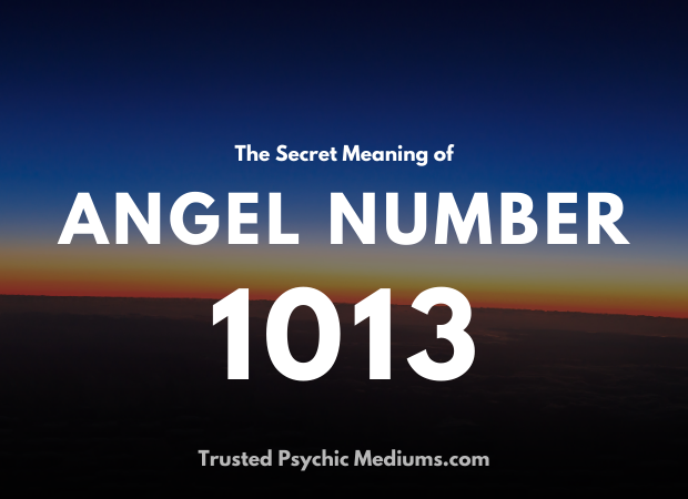 Angel Number 1013 and its Meaning