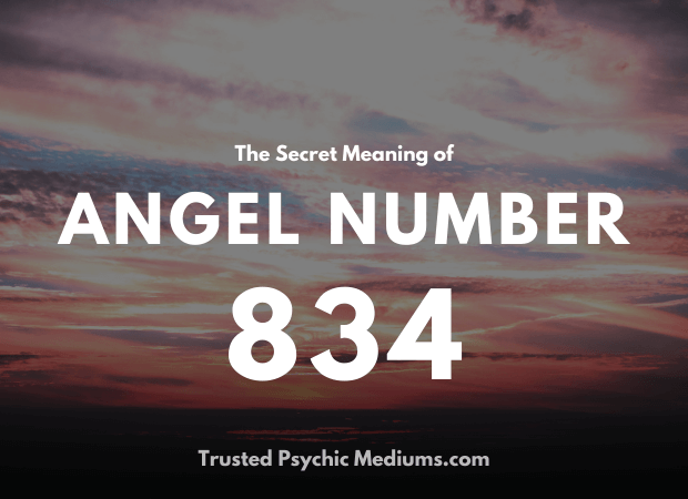 Angel Number 834 and its Meaning