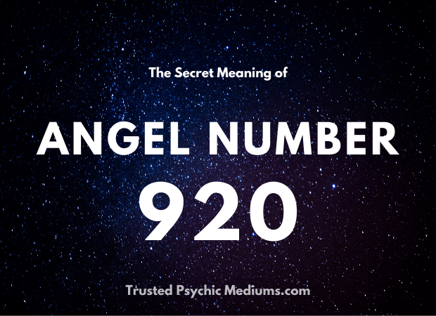 Angel Number 920 and its Meaning